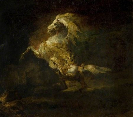 Grey Horse Gericault, Theodore
