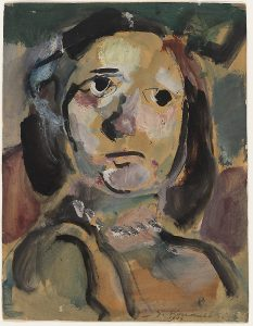 Head of Young Girl. 1904.